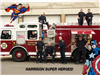 Harrison Super Heroes - Fire Department on Truck