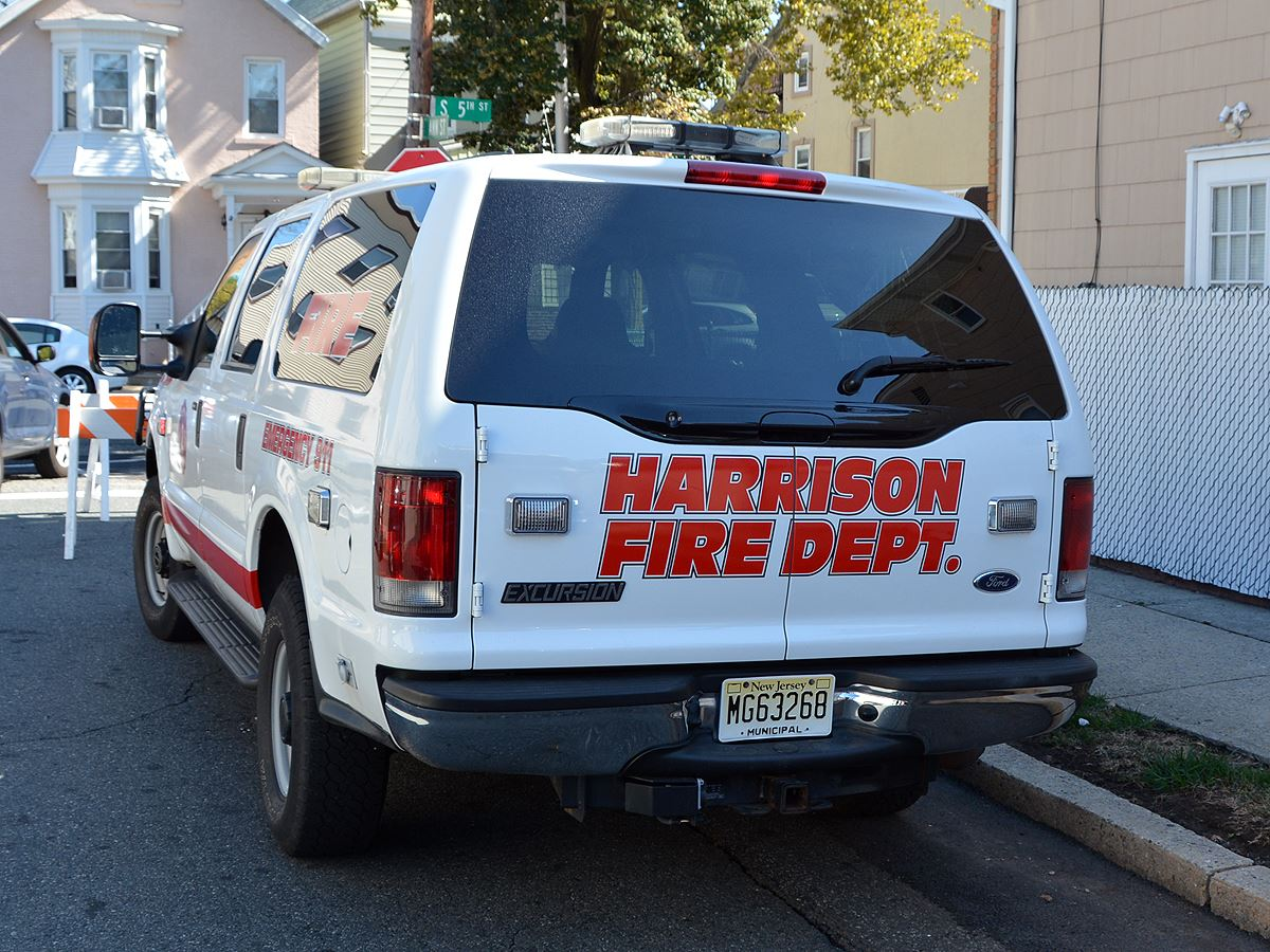 Harrison Fire Department Vehicle