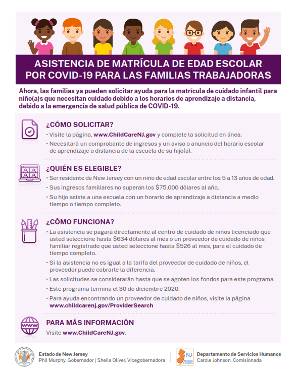 Spanish - Assistance for working families